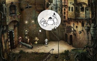 Machinarium для Huawei 2